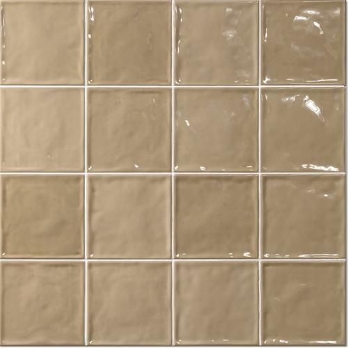 Carrelage effet zellige 15x15 CHIC BEIGE - 1m² El Barco