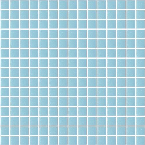 Mosaique piscine Bleu A33 20x20mm - 2.14m² - zoom