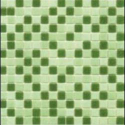 Mosaique piscine Mix Vert 32.7x32.7 cm - 2.14m²