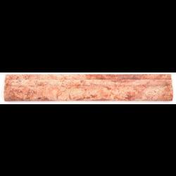 Corniche pierre Travertin Rouge 30.5x5 cm - unité SF