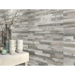 Carrelage imitation bois gris rect 30x60 DECK WISCONSIN WINTER MIX - 1.08m² Baldocer