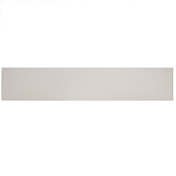 Chevron uni sol ou mur 9x 36cm STROMBOLI BLANC PLUME 25889 - 0.85m² Equipe