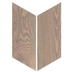 Chevron imitation bois sol ou mur 9x20.5 cm HEXAWOOD OLD - 1m² Equipe