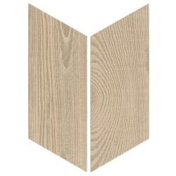 Chevron imitation bois sol ou mur 9x20.5 cm HEXAWOOD TAN - réf : 21656-21655 - 1m²