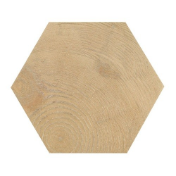 Carrelage aspect bois 17,5x20cm Tomette HEXAWOOD NATURAL 21629 - 0.71m² Equipe