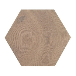 Carrelage aspect bois 17,5x20cm Tomette HEXAWOOD OLD 21630 - 0.71m² Equipe