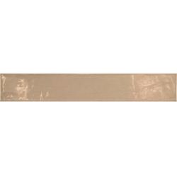 Carrelage uni brillant beige 6.5x40cm COUNTRY VISON 13252 – 1m² Equipe
