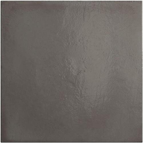 Faience vintage gris foncé 20x20 cm HABITAT OBSIDIAN 25394 - 1m² - zoom