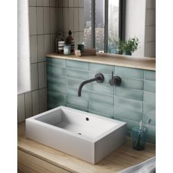 Faience dénuancée bleu clair 6.5x20 cm MAGMA AQUAMARINA 24966 - 0.5m² Equipe