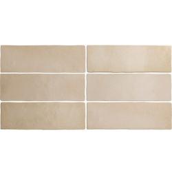 Faience dénuancée beige 6.5x20 cm MAGMA SAHARA 24959 - 0.5m² Equipe