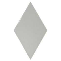 Faience losange gris clair brillant 15x26cm RHOMBUS WALL LIGHT GREY 22750 - 1m² Equipe
