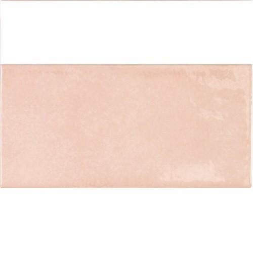 Faience effet zellige rose 6.5x13.2 VILLAGE ROSE GOLD 25583 - 0.5m² - zoom