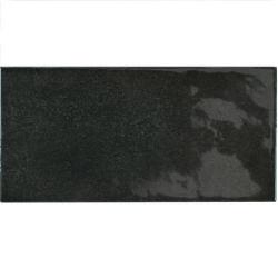 Faience effet zellige noir 6.5x13.2 VILLAGE BLACK 25587 - 0.5m² Equipe