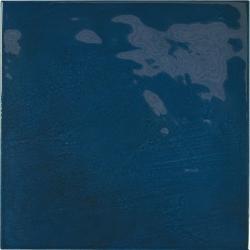 Faience effet zellige bleu nuit 13.2x13.2 VILLAGE ROYAL BLUE 25589 - 1 m² Equipe