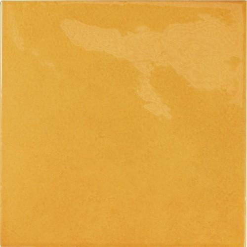Faience effet zellige doré 13.2x13.2 VILLAGE TUSCANY GOLD 25591- 1m² Equipe