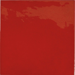 Faience effet zellige rouge 13.2x13.2 VILLAGE VOLCANIC RED 25592 - 1m² Equipe