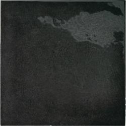 Faience effet zellige noir 13.2x13.2 VILLAGE BLACK 25598 - 1 m² Equipe