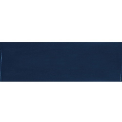 Faience effet zellige bleu nuit 6.5x20 VILLAGE ROYAL BLUE 25630 - 0.5m² Equipe