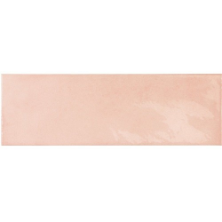 Faience effet zellige rose 6.5x20 VILLAGE ROSE GOLD 25635 - 0.5m² Equipe