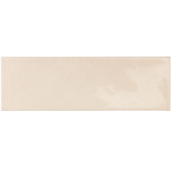 Faience effet zellige beige 6.5x20 VILLAGE MUSHROOM 25640 - 0.5 m² Equipe