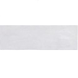 Faience nuancée effet zellige gris 6.5x20 RIVIERA GRIS NUAGE 25838-0.5 m² Equipe