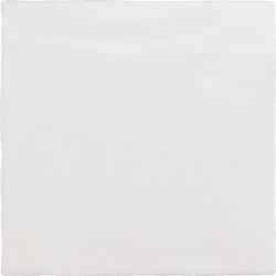 Faience nuancée effet zellige blanche 13.2x13.2 RIVIERA WHITE 25851-1 m²
