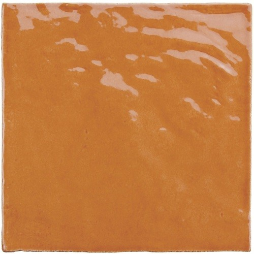 Faience nuancée effet zellige ocre 13x13 RIVIERA GINGER 25857- 1 m² Equipe