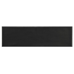 Carrelage uni mat noir anthracite 6.5x20cm COUNTRY ANTHRACITE MAT - 21553 – 0.5m² Equipe