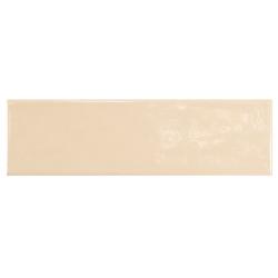 Carrelage uni brillant beige clair 6.5x20cm COUNTRY BEIGE – 0.5m² Equipe