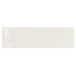 Carrelage uni brillant blanc 6.5x20cm COUNTRY BLANCO 21531 – 0.5m² Equipe