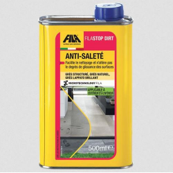 Anti-saleté pour Grès structuré, naturel, Lappato brillant : FilaStop Dirt 500ml