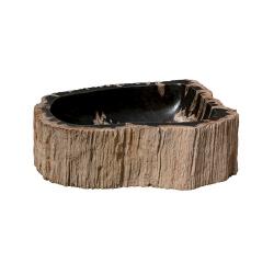 Vasque en bois fossilisé modèle 4