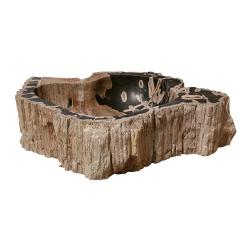 Vasque en bois fossilisé modèle 5