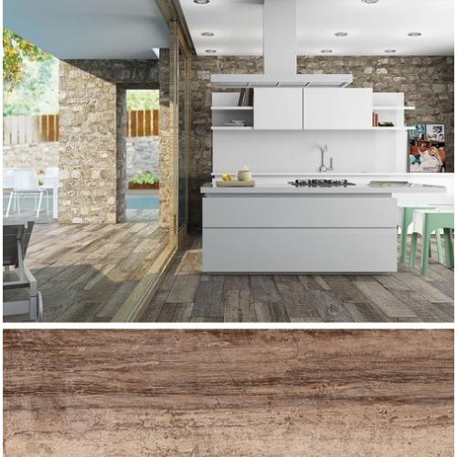 Carrelage extérieur effet vieilli ORIGEN NATURAL R12 - 20.2x66.2CM - 1.20 m² GayaFores