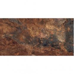 Carrelage effet pierre gris foncé nuancé ARDESIA NATURAL 32x62.5 cm - 1m² GayaFores