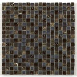Glas naturstein brun 1.5x1.5 cm - 30x30 - unité