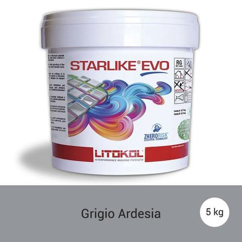 Litokol Starlike EVO Ardesia C.130 Mortier époxy - 5 kg - zoom