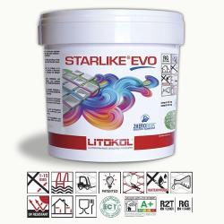 Litokol Starlike EVO Bianco Assoluto C.100 Mortier époxy - 5 kg Litokol
