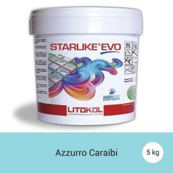 Litokol Starlike EVO Azzurro Caraibi C.320 Mortier époxy - 5 kg