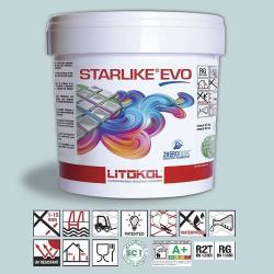 Litokol Starlike EVO Azzurro Pastello C.300 Mortier époxy - 5 kg Litokol
