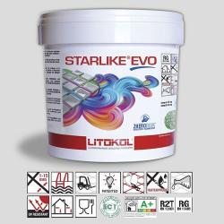 Litokol Starlike EVO Bianco Titanio C.105 Mortier époxy - 5 kg Litokol