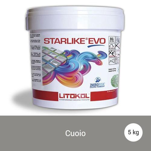 Litokol Starlike EVO Cuoio C.232 Mortier époxy - 5 kg - zoom