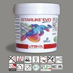 Litokol Starlike EVO Cuoio C.232 Mortier époxy - 5 kg Litokol