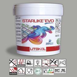 Litokol Starlike EVO Grigio Cemento C.125 Mortier époxy - 5 kg Litokol