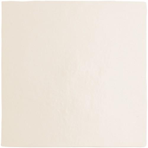 Carrelage dénuancé blanc 13.2x13.2 cm MAGMA WHITE 24968 - 1m² - zoom