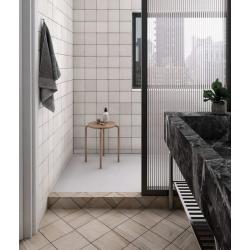 Carrelage dénuancé blanc 13.2x13.2 cm MAGMA WHITE 24968 - 1m² Equipe