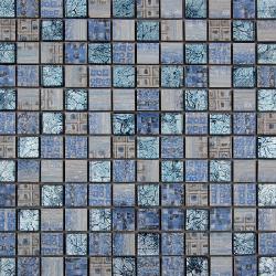 Malla Arte Celeste- Mosaique en verre et grès cérame 30x30cm - unité Decora