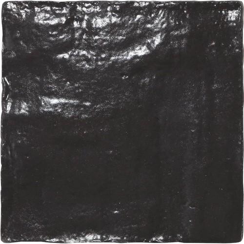 Carrelage effet zellige 10x10cm MALLORCA BLACK 23262 - 0.5m² Equipe