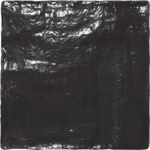 Carrelage effet zellige 10x10cm MALLORCA BLACK 23262 - 0.5m² - zoom