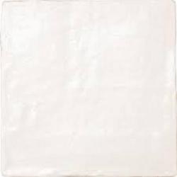 Carrelage effet zellige 10x10cm MALLORCA WHITE 23257 - 0.5m²